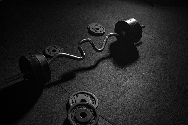 Barre EZ biceps